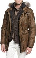 Belstaff Pathfinder All-Weather Jacket, Moss Green