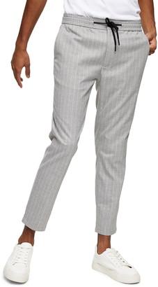 Topman Whyatt Classic Fit Stripe Trousers