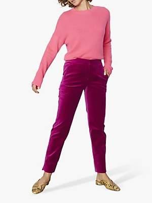Jigsaw Paris Velvet Slim Trousers