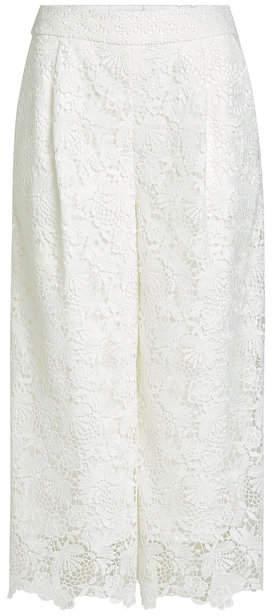 Diane von Furstenberg Lace Culottes