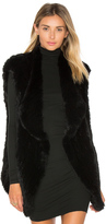 Elizabeth and James Isla Rabbit Fur Vest
