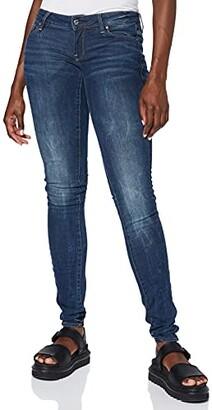 G-Star Raw Women's 3301 Low Rise Skinny Fit Jeans