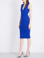 Victoria Beckham Sleeveless stretch-crepe dress