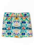 Milly Minis Piped Mini Skirt