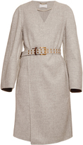 Chloé Double-faced wool and cashmere-blend coat