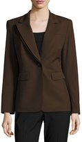Lafayette 148 New York Double-Collar Wool-Blend Jacket, Melba