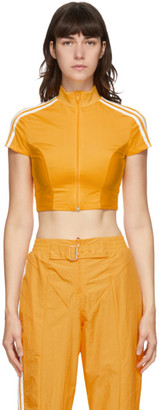 adidas Yellow Paolina Russo Edition Crop T-Shirt