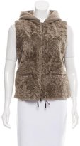 Fabiana Filippi Wool Shearling Short Vest