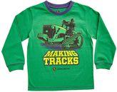 "John Deere Boys 4-7 Making Tracks"" Graphic Tee"