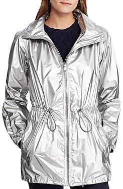 Ralph Lauren Ralph Metallic Hooded Zip Jacket