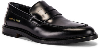 Common Projects Leather Loafer in Black | FWRD