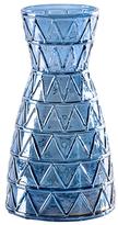 Torre & Tagus Short Geo Lustre Carafe Vase