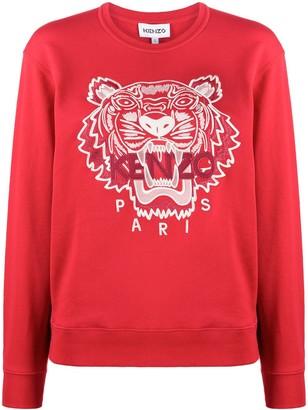 Kenzo Tiger-Motif Sweatshirt