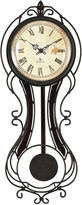 Asstd National Brand FirsTime Fleur Pendulum Wall Clock