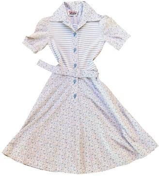 Rodier Multicolour Cotton Dress for Women