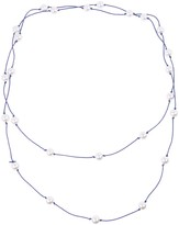 Unbranded Women's West Virginia Mountaineers Pearl Necklace