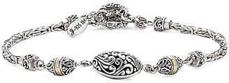 Samuel B. 18K & Sterling Silver Bracelet