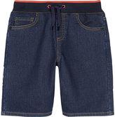 Kenzo Benson Cotton-blend Denim Shorts 4-16 Years