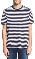 Obey 'Sierra' Stripe Pocket T-Shirt
