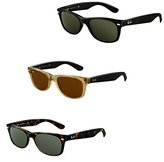 Ray-Ban Women's Polarized New Wayfarer RB2132-605258-52 Square Sunglasses