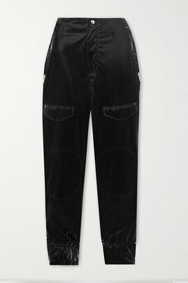 RtA Harlan Pu-blend Skinny Pants - Black