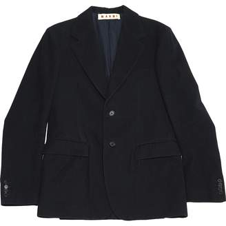 Marni Navy Wool Jackets