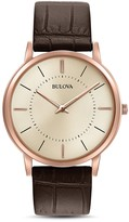 Bulova Slim Watch, 40mm