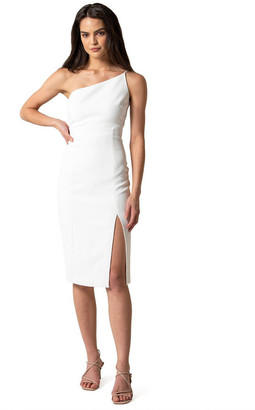 Forever New Franca Petite One Shoulder Midi Dress