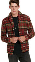 Denim & Supply Ralph Lauren Plaid Shawl-Collar Cardigan