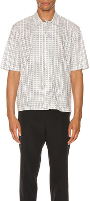 Maison Margiela Printed Shirt in Black & White | FWRD