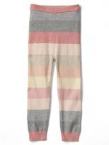 Gap Rose stripe sweater leggings