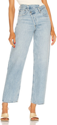 AGOLDE Criss Cross Upsized Jean in Suburbia | FWRD