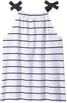 Joe Fresh Kid Girls' Stripe Halter Tank, JF Midnight Blue (Size S)