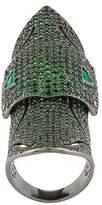 Loree Rodkin Loree Armour Ombre ring