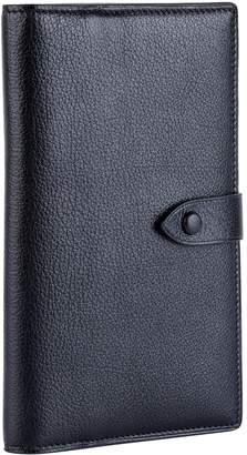 Metier London Leather Travel Wallet
