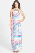 Charlie Jade Beaded Print Maxi Dress