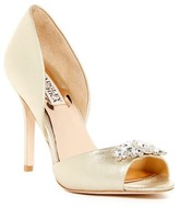 Badgley Mischka Sugar Embellished Pump