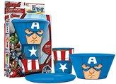 Marvel Stacking Meal Set - Captain America (AVENGERS)