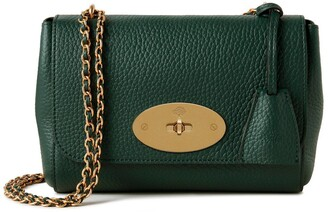 Mulberry Lily Green Heavy Grain