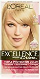 L'Oreal Excellence Creme Pro-Keratine Triple Protection Color Creme 9A Light Ash Blonde/Cooler by