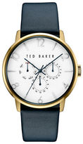 Ted Baker Smart-Casual Leather Strap Watch