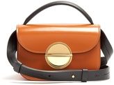 Marni Tuk tri-colour leather cross-body bag
