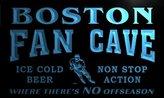 AdvPro Name tg2072-b Boston Hockey Fan Cave Man Room Bar Beer Neon Light Sign
