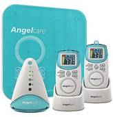 Angelcare AC401-2P Deluxe Movement and Sound Monitor with 2 Rechargeable Pare...