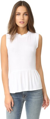 Three Dots Women's Peplum Tank