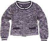 Nautica Little Girls' Heathered Cardigan (2T-7)