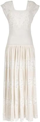 A.N.G.E.L.O. Vintage Cult 1970s Lace Panel Dress