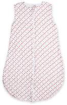 Bebe Au Lait Tinsley Muslin Full-Zip Wearable Blanket in Red/Blue