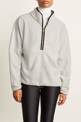 DONNI 100% Polyester/Spandex Polar 1/2 Zip Pullover