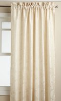 Lorraine Home Fashions Floral Lustre 52-inch x 63-inch Tailored Panel, Ivory